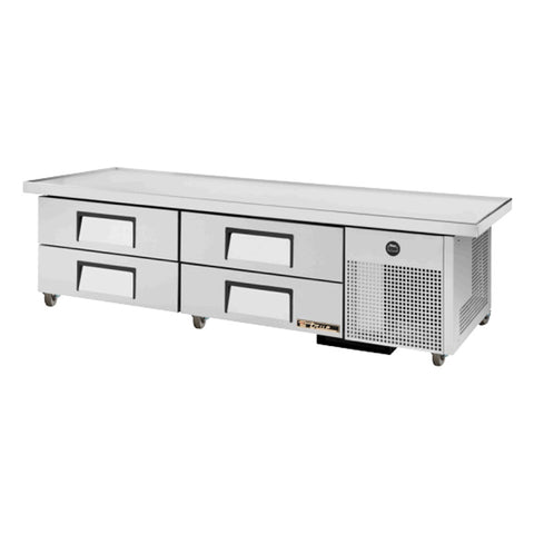 "TRUE 86"" 4 DRAWER REFRIGERATED CHEF BASE- TRCB-79-86 - Nella Cutlery Toronto"