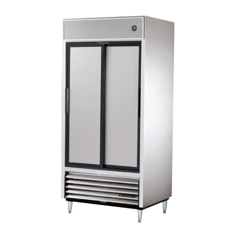 TRUE REACH IN 2 SOLID SLIDING DOOR REFRIGERATOR - TSD-33 - Nella Cutlery Toronto