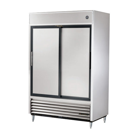 TRUE REACH IN 2 SOLID SLIDING DOOR REFRIGERATOR - TSD-47 - Nella Cutlery Toronto
