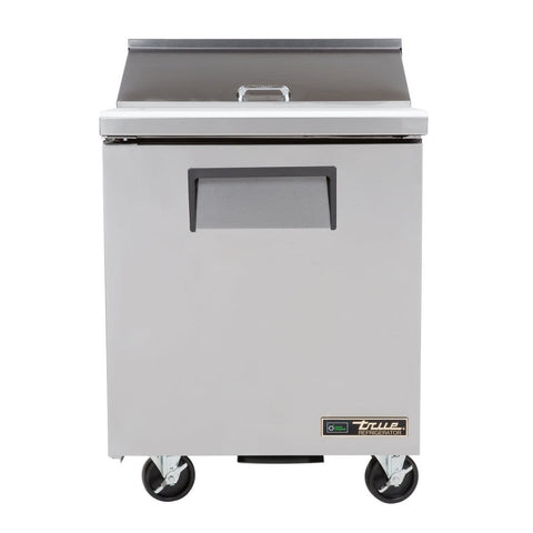 "TRUE TSSU-27-08-HC LH 27"" 8 PAN SALAD / SANDWICH PREP TABLE REFRIGERATOR"