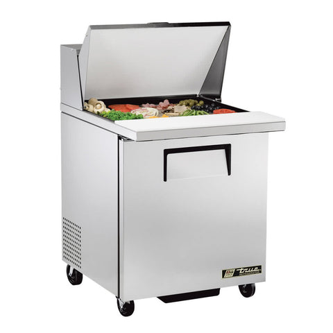 "TRUE TSSU-27-12M-C-HC 27"" MEGA TOP SALAD / SANDWICH PREP TABLE REFRIGERATOR"