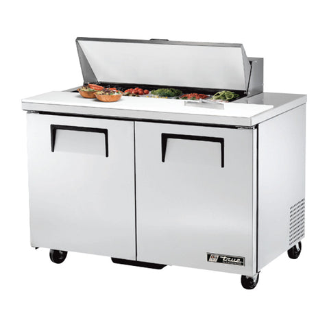 "TRUE 48"" 10 PAN SALAD/SANDWICH PREP TABLE - TSSU-48-10"