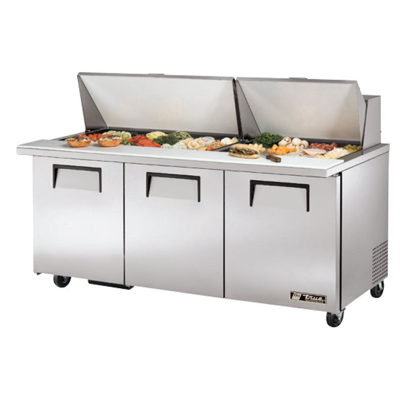 True TSSUMBST Pan Mega Top SaladSandwich Prep Table - True refrigerated prep table