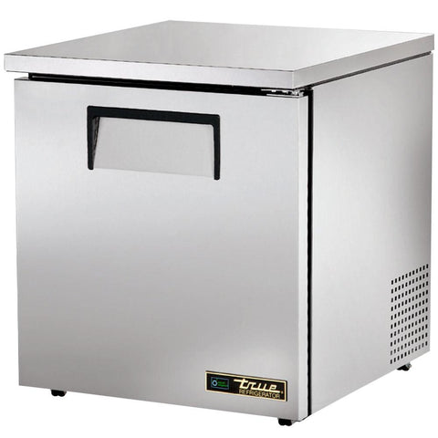 "True TUC-27F-ADA-HC 27"" ADA Compliant Solid Door Undercounter Freezer"