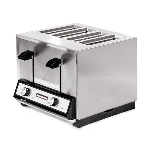 Star Holman HT409 Hybrid Commercial 4-Slot Pop-up Toaster - 120V