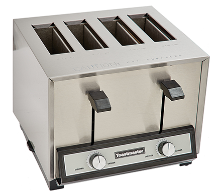 Star Holman TP409 Commercial 4-Slot Pop-up Toaster - 120V