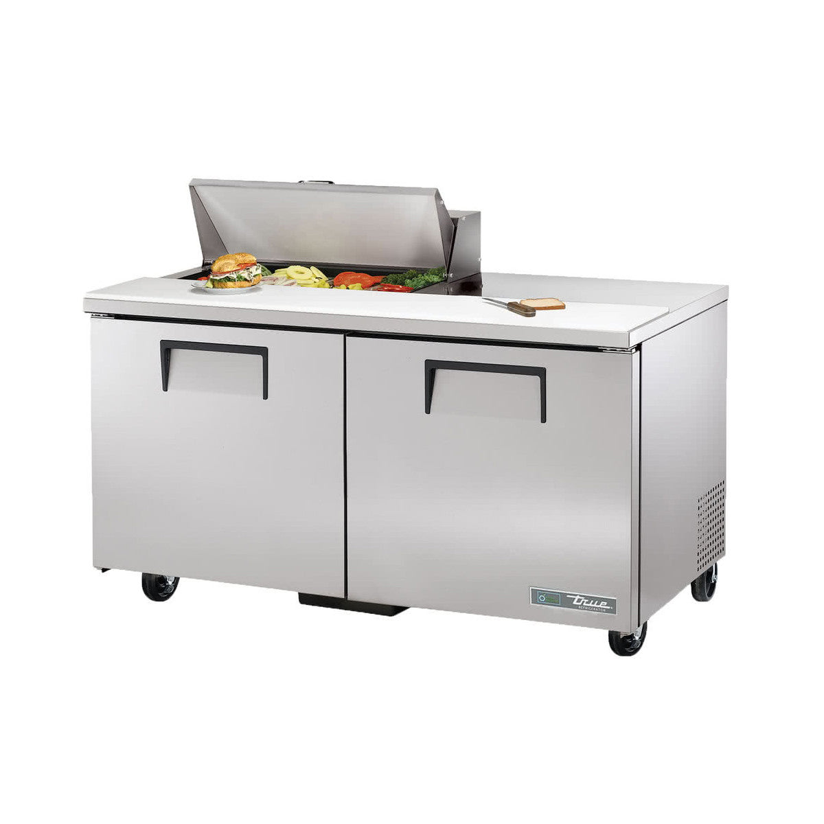 True TSSUHC Pan Refrigerated Sandwich Prep Table - True refrigerated prep table
