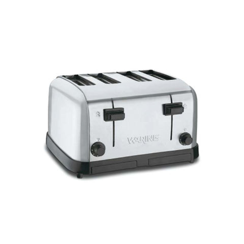 WARING COMMERCIAL MEDIUM-DUTY 4-SLOT TOASTER - WCT708 - Nella Cutlery Toronto
