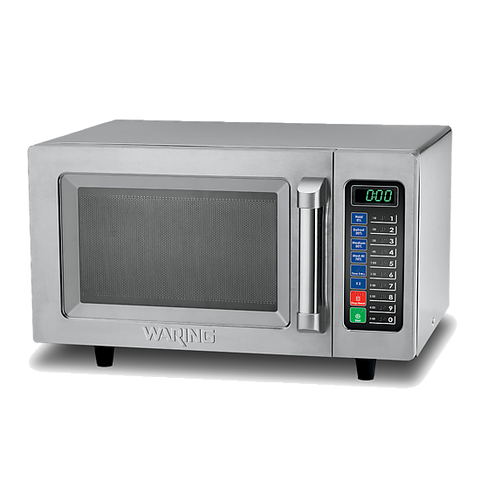 Waring WMO90 0.9 Cu. ft. Medium-Duty Touch Control Microwave Oven - 1000W