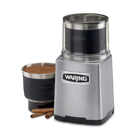 "Waring Commercial WSG60 8.5"" Electric Spice Grinder with 3-Cup Capacity"