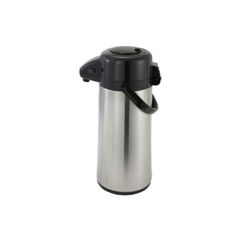 WINCO 2.2L STAINLESS STEEL VACUUM SERVER WITH PUSH BUTTON - AP-522 - Nella Cutlery Toronto