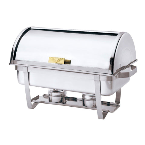 Browne 9 Qt. Economy Roll Top Rectangular Chafer - 575135
