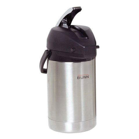 Bunn 2.5L Stainless Steel Lever Action Airpot - 32125.0000