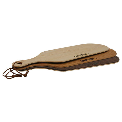 "Chop Chop MIX23M3 Kitchen Series 7.25"" x 23"" x 0.38"" Mixed Wood Paddle Board - Nella Cutlery Toronto"