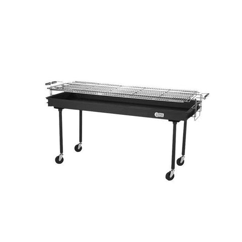 "Crown Verity CV-BM-60 60"" Portable Outdoor Charcoal Grill"
