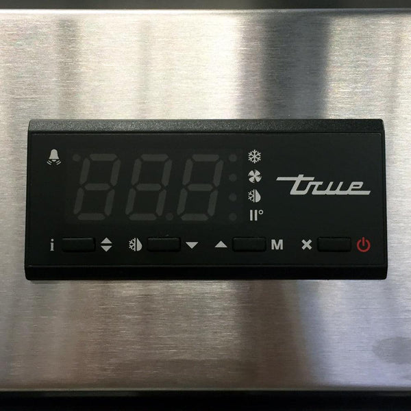True Refrigerator Digital Temperature
