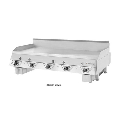 "Garland CG-24R 24"" Countertop Gas Griddle with Electronic Controls - 60,000 BTU"