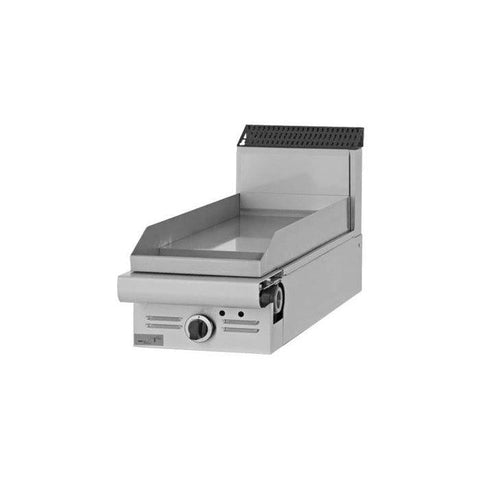 "Garland GD-15G Designer Series 15"" Countertop Natural Gas Griddle with Manual Controls - 20,000 BTU"