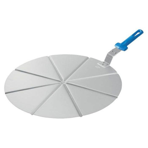 "GI Metal AC-PCPT45 18"" Aluminum Pizza Tray with 8 Portions"