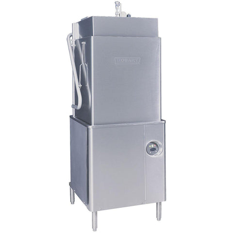Hobart AM15T Select Tall High/Low Temperature Door-Type Dishwasher - 208-240V, 3 Phase