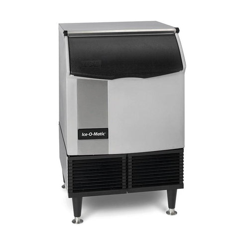 "Ice-O-Matic ICEU220HA 24"" Self-Contained Undercounter Ice Machine - Half Cube - 238 lb."