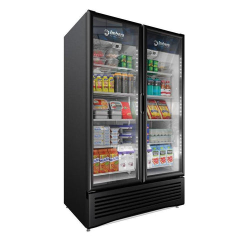 "Imbera 47"" Elite Series Two Section Glass Door Refrigerator - 42862"