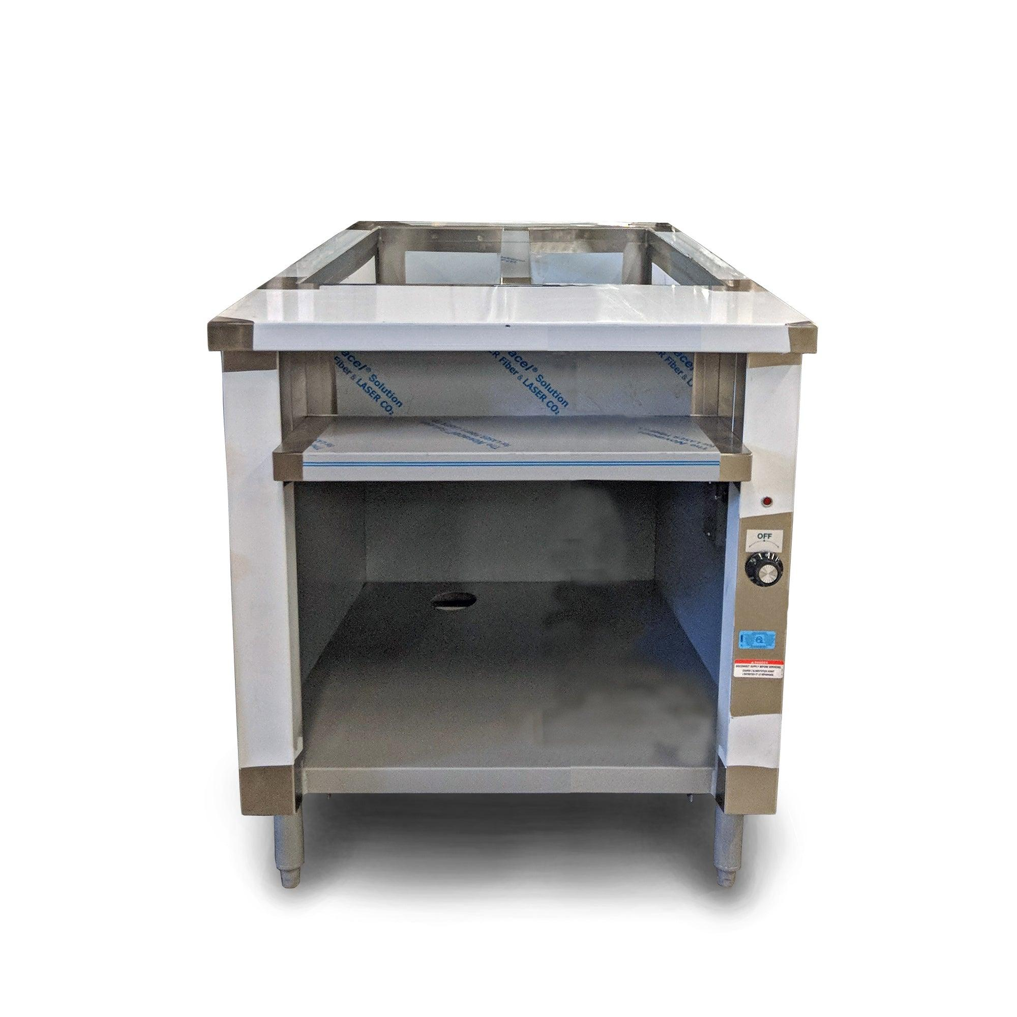 Nella Single Tank Well Electric Steam Table IST Nella Online - 2 well steam table