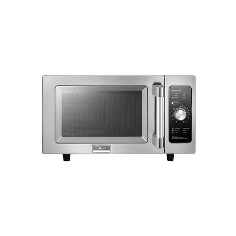 Midea 1025F0A Light-Duty Commercial Microwave Oven with Dial Control - 1000W