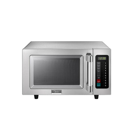 Midea 1025F1A Light-Duty Commercial Microwave Oven with Touch Controls - 1000W