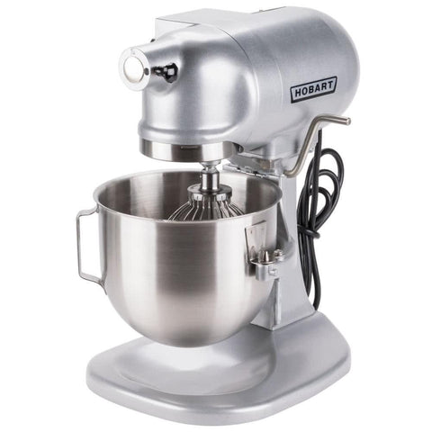HOBART N50 5-QUART COMMERCIAL COUNTERTOP MIXER - 120V, 1/6 HP