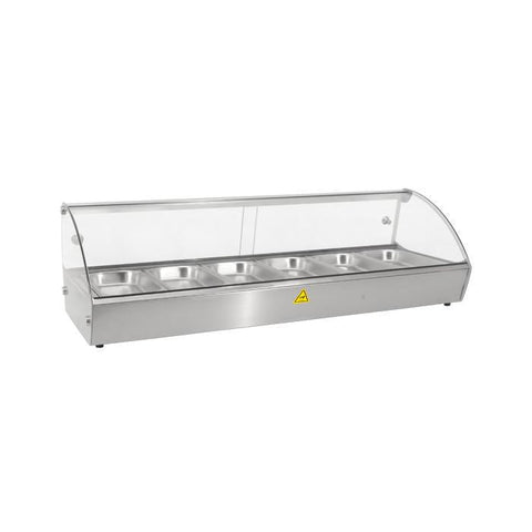 "Nella 44"" Countertop Display Warmer With Double Sliding Doors - 43119"