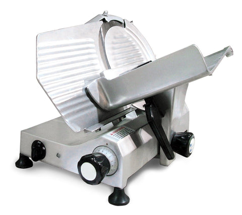 "Nella 12"" Belt Driven Meat Slicer - 31344"