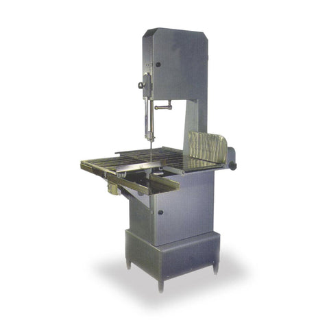"Nella 3 hp Floor Model Meat Band Saw with 126"" Blade - 220V, 1 Phase - 10272"