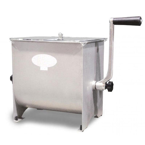Nella 17 lb Tank Capacity Manual Non-Tilting Meat Mixer - 13155