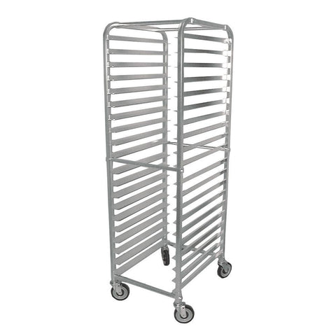 Nella 20-Slide Aluminum Pan Rack with Curved Top - 13506