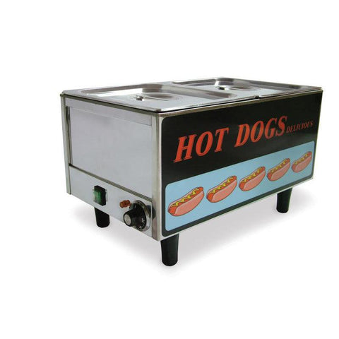 Nella Stainless Steel Hot Dog Steamer and Bun Warmer - 17133