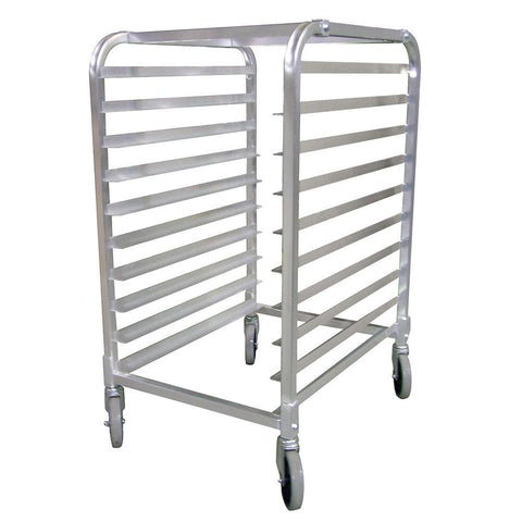 Nella 10-Slide Aluminum Pan Rack with Curved Top - 22128
