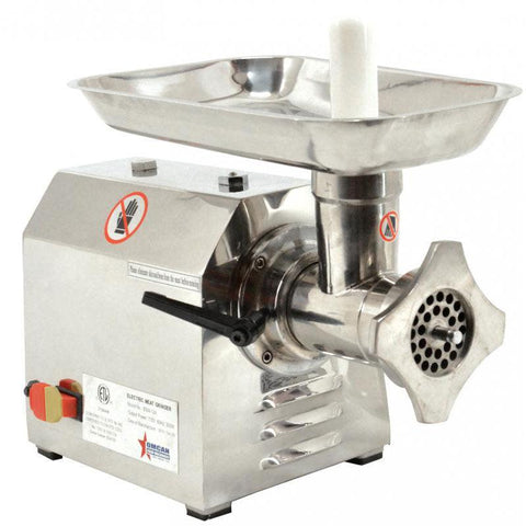 Nella #12 Stainless Steel Meat Grinder - 23580