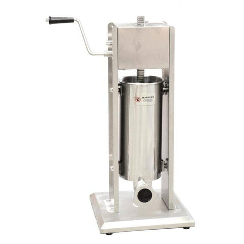 Nella 5 Litre / 11 lb. Vertical Manual Sausage Stuffer - 24199