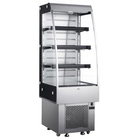"Nella 24"" Open Refrigerated Floor Display Case - 25825"