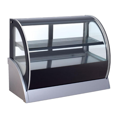 "Nella 36"" Glass Refrigerated Display Case - 31406"