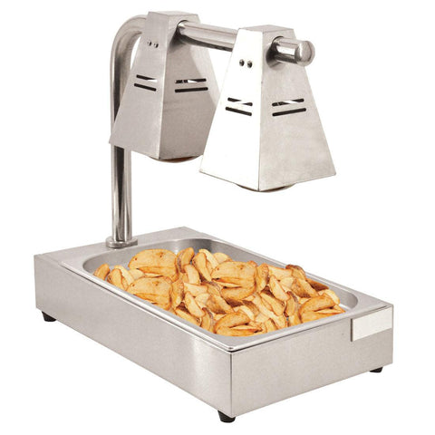 Nella Double-Bulb Countertop Chip Dump Station - 39601