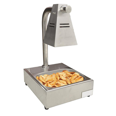 Nella Single-Bulb Countertop Chip Dump Station - 39602