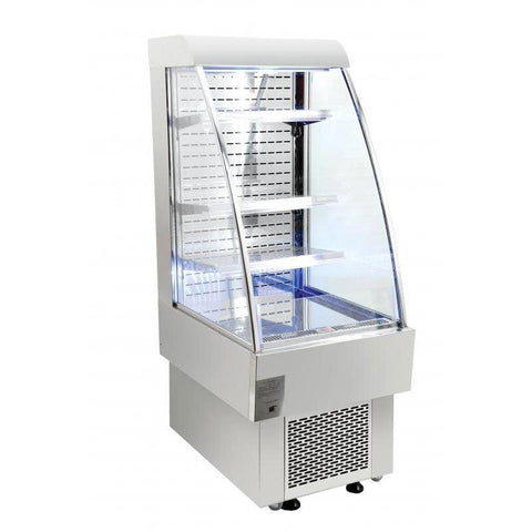 "Nella 24"" Open Refrigerated Floor Display Case - 8.12 Cu. Ft. - 40438"