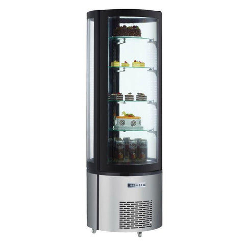 "Nella 26"" Circular Refrigerated Display Case - 12.7 Cu. Ft. - 40440"