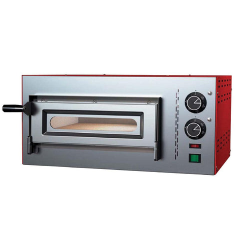 "Nella 20"" Single Chamber Compact Series Pizza Oven - 3.60 kW - 40634"