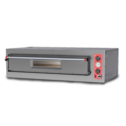 "Nella 28"" Entry Max Series Pizza Oven With Single Chamber - 5.56 kW - 40635"