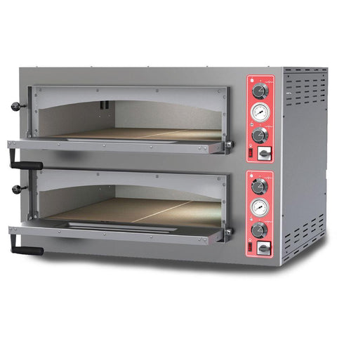 "Nella 28"" Entry Max Series Pizza Oven With Double Chamber - 11.2 kW - 40636"