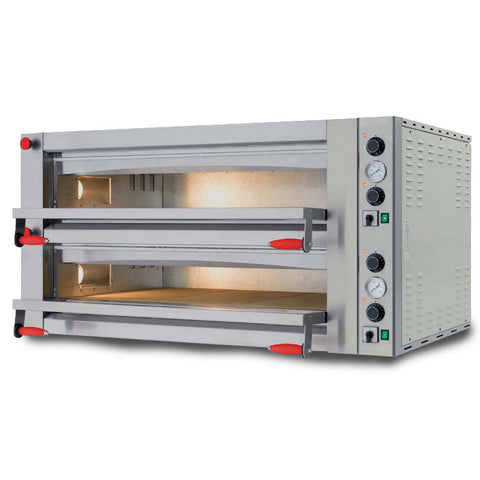 "Nella 41"" Pyralis Series Pizza Oven With Single Chamber And Mechanical Display - 18 kW - 40641"