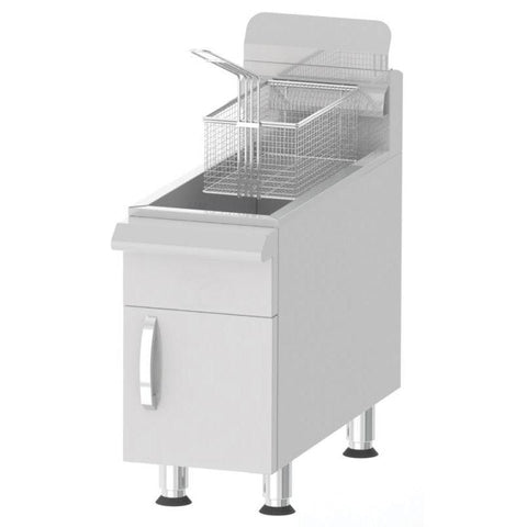 Nella 15 lb. Commercial Countertop Gas Fryer - CF15 - 43086